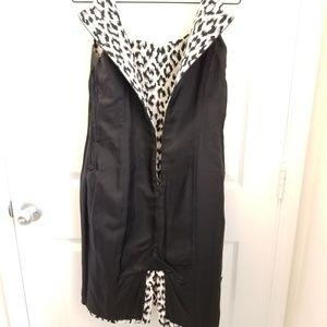 Isabella DeMarco Dresses - Isabella Demarco Black & white leopard print dress